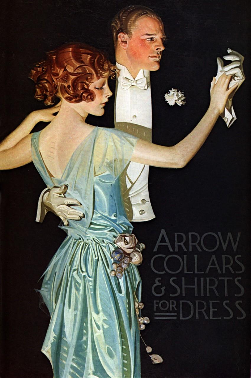 Мужской эротизм на обложках журналов 100 лет назад