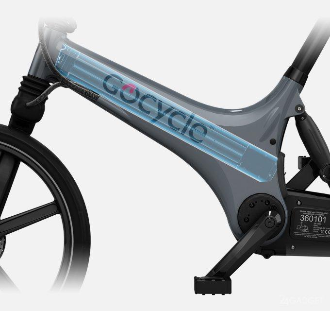 Gocycle GX — электровелосипед, складывающийся за 10 секунд gocycle gx