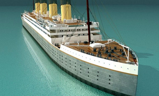 Китайцы строят копию Титаника культура