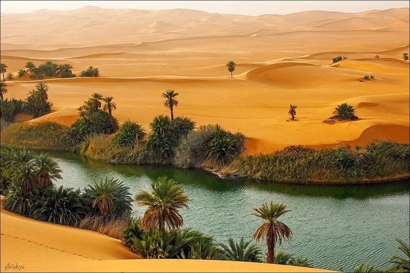 Солёные озёра Убари – удивительные оазисы посреди огромной Сахары автотуризм