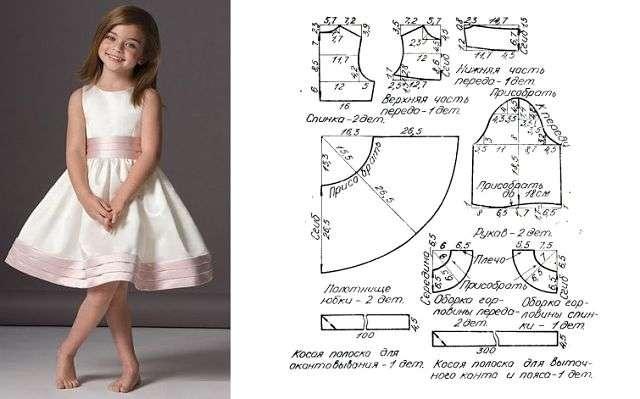 Выглядеть стильно могут не только женщины, но и девочки и не обязательно в купленных вещах. Эксклюзивные вещи для маленьких модниц можно сшить своими руками. Предлагаем вашему вниманию идеи и выкройки. handmake