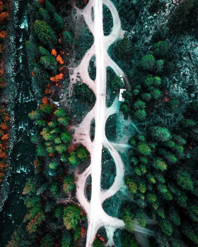 Аэрофотокрасота от Остина Дивайна