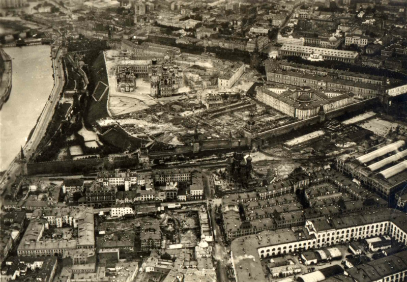Немецкий дирижабль «Граф Цеппелин» в Москве в 1930 году Дальние дали