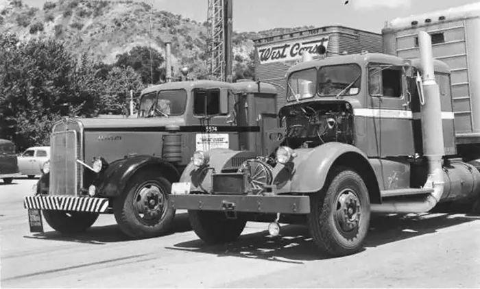 Газотурбинный грузовик Kenworth авто