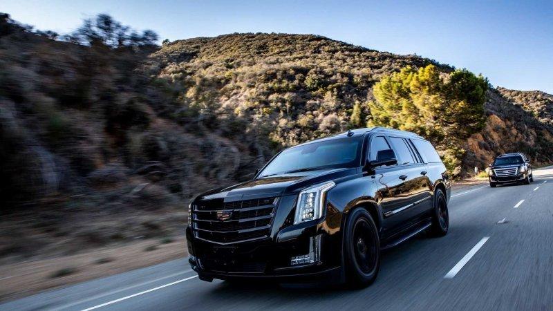 Бронированный Cadillac Escalade с невероятно роскошным салоном cadillac escalade