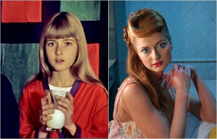 Актёры из музыкальной сказки «Мэри Поппинс, до свидания» на съёмках фильма и через много лет актеры