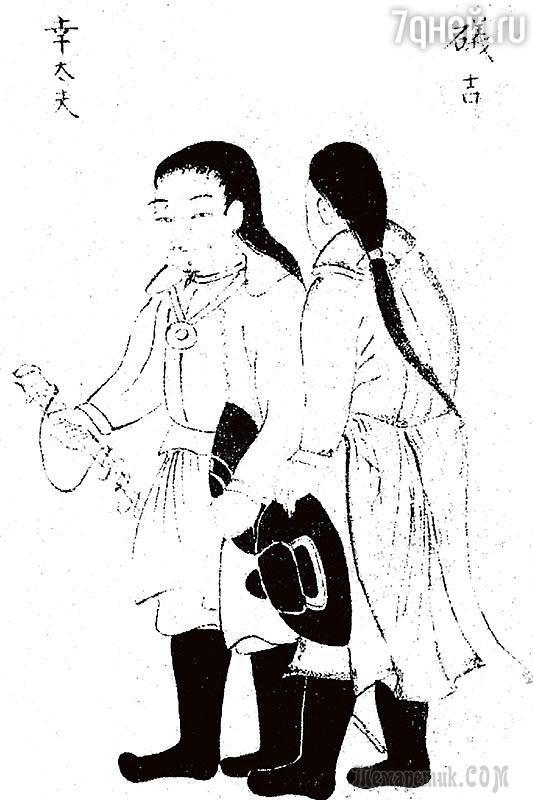 Сны о России... Рисунки из книги японца Дайкокуя Кодаю