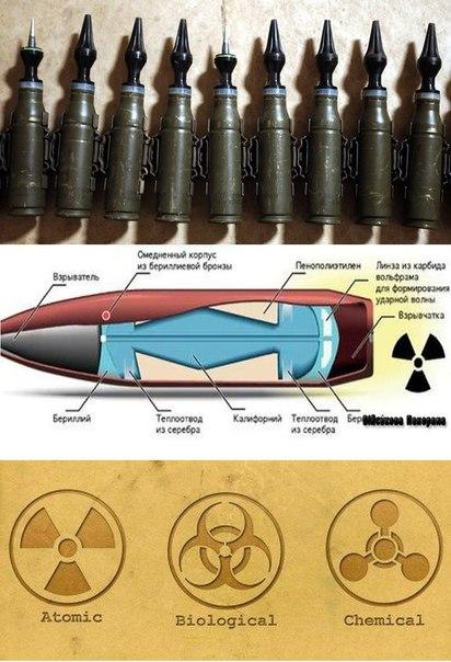 История создания сверхмалых ядерных зарядов , весом 1.8 грамма Война и мир
