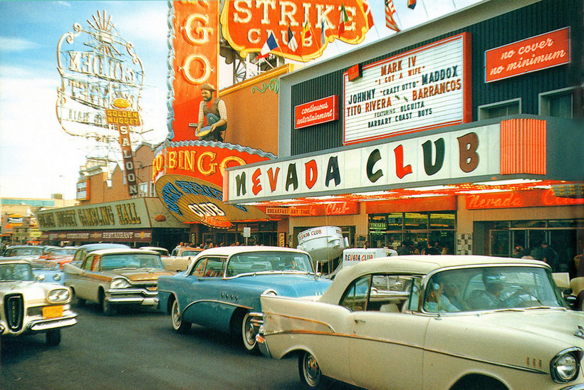 Как Лас-Вегас стал таким, каким мы его знаем: снимки города 1906-1971 годов авиатур