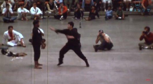 Демонстрация мощи Брюса Ли: 1964 год культура