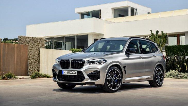 Разгон до сотни за 4 секунды. BMW представила спортивные внедорожники X3 M и X4 M BMW