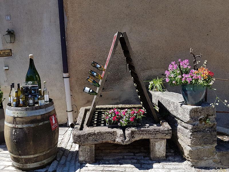Château-Chalon. Деревня, где делают «желтое вино» авиатур