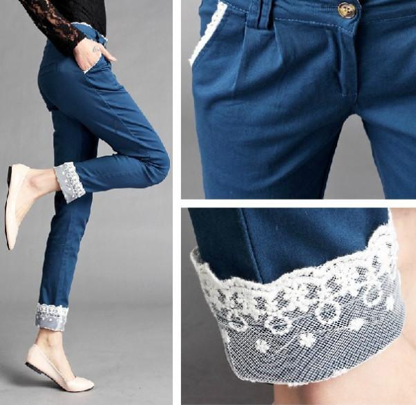 Потрясающие идеи: сочетание кружева и джинса никого не оставит равнодушным! вдохновение