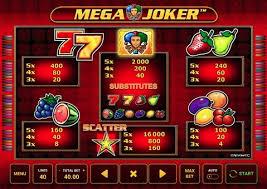 Ігровий автомат Mega Joker з виведенням реальних грошей