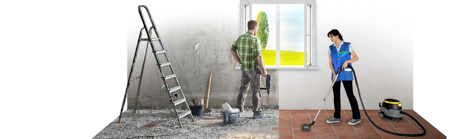 Поради - прибирання квартири (будинку) після будівельних і ремонтних робіт.